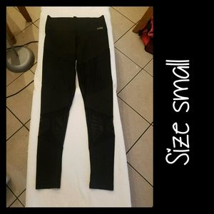 PINK BONDED Leggings Size Small